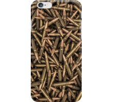 Rifle bullets iPhone Case/Skin