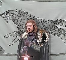 Eddard Stark by WulfFather