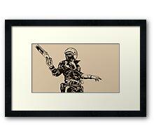 The Road Warrior Framed Print
