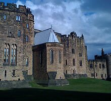 ALNWICK CASTLE NORTHUMBRIA FILM LOCATION FOR HARRY POTTER by marieangel