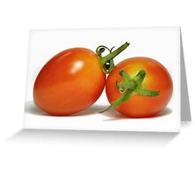 Grape Tomatoes Greeting Card