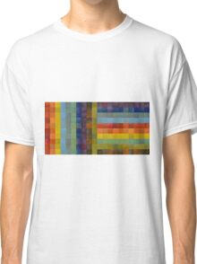 Collage Color Study Sketch Classic T-Shirt