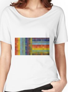 Collage Color Study Sketch Women's Relaxed Fit T-Shirt