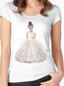 Flower Girls Women's Fitted Scoop T-Shirt