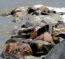 Shoreline Rocks by kenspics