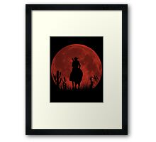 Lonesome Cowboy (v2) Framed Print
