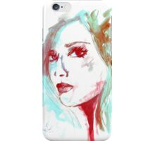 Lady Mint iPhone Case/Skin