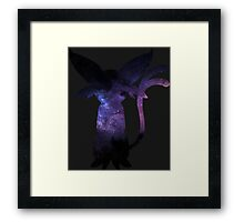 pokemon eevee espeon space anime shirt Framed Print