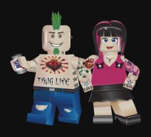 Lego Couple by eddiehollomon