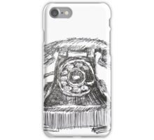Vintage Telephone iPhone Case/Skin