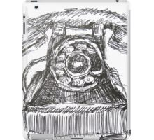 Vintage Telephone iPad Case/Skin