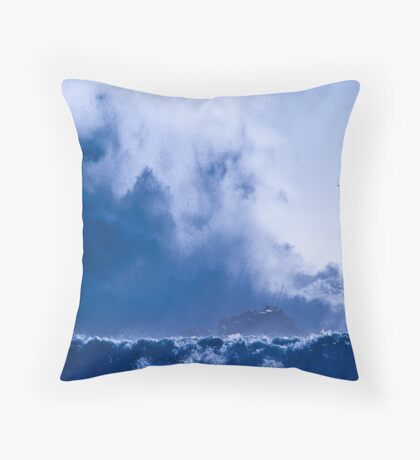 Whalehead Beach Throw Pillow