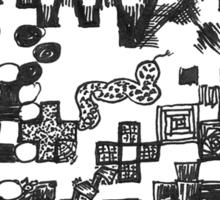 The QR comics Code Sticker