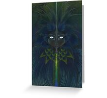 Brazil- Queen of carnival Greeting Card
