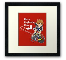 KH: Choose Your Keyblade Framed Print