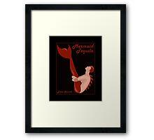 Mermaid Tequila Framed Print