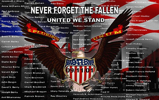 never forget the fallen