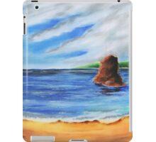 colorful shore iPad Case/Skin