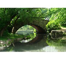 Here, There Be No Trolls-Gapstow Bridge In Summer Photographic Print