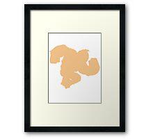 Smash DK Dirty Ape Framed Print