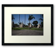 Wig Wam Motel Route 66 Framed Print