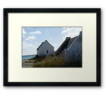 slavehouses Framed Print