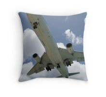 klm marie curie closer Throw Pillow