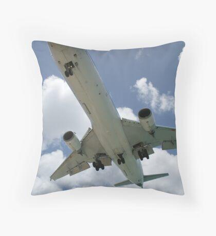 klm marie curie closer Throw Pillow