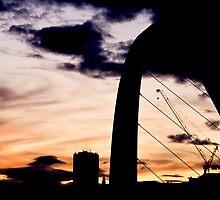 Newcastle Dusk by neonwilderness