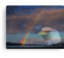 My Pot Of Gold At The End Of The Rainbow Canvas Print