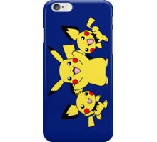 pokemon pikachu pichu cute chibi anime shirt iPhone Case/Skin