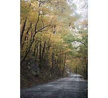 Winding Into Autumn Photographic Print
