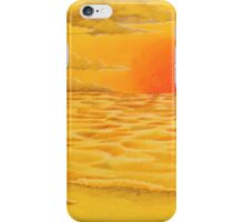 Apricot see iPhone Case/Skin