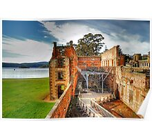 For The Term Of Their Natural Life - Port Arthur Historic Site - The HDR Experience Poster