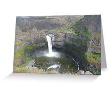 Palouse Falls Series - 1 Greeting Card
