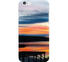 Dock Sunset iPhone Case/Skin