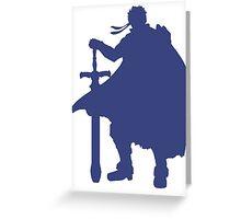 Smash FEIke Blue Greeting Card