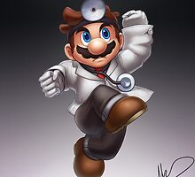 Dr. Mario by hybridmink
