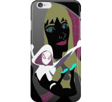 The spider blonde iPhone Case/Skin
