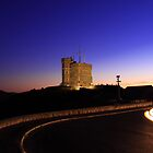 Cabot Tower Sunset by Brian Carey