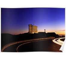 Cabot Tower Sunset Poster