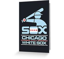 Chicago Inspired White Sox Greeting Card