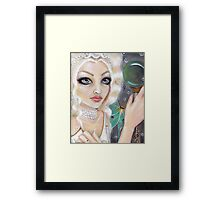 The Whyte Witch Framed Print