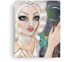 The Whyte Witch Canvas Print