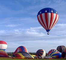 Up, up and away! by Sherry Seely