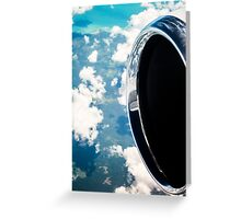 Land and Sky Greeting Card