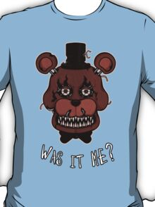 Five Nights at Freddy's - Nightmare Freddy - Was It Me? T-Shirt