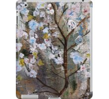 Cherry Blossoms Pink and Blue iPad Case/Skin