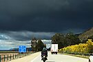 Motorcycle Series #4 Bad Weather Ahead by Evita