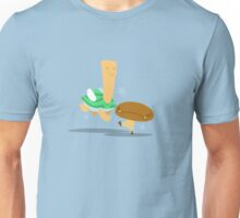 Angry Goomba, Cheery Koopa Unisex T-Shirt